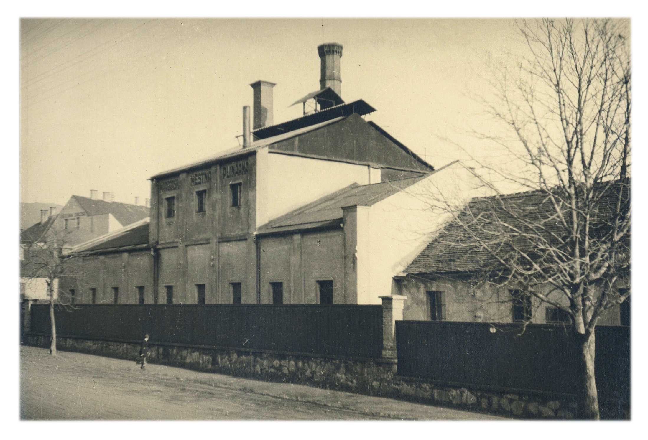 Stavba mariborske mestne plinarne, Graff jo je zgradil v letih 1869-71
