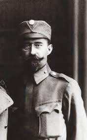 Longin Cehelski (1875−1950) v uniformi Ukrajinske armade (1918)